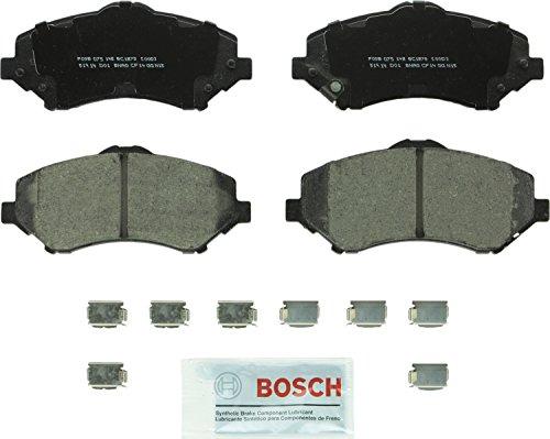 Bosch BC1273 QuietCast Premium Ceramic Disc Brake Pad Set For Dodge: 2007-2010 Nitro; Jeep: 2008-2011 Liberty, 2007-2010 Wrangler; Front