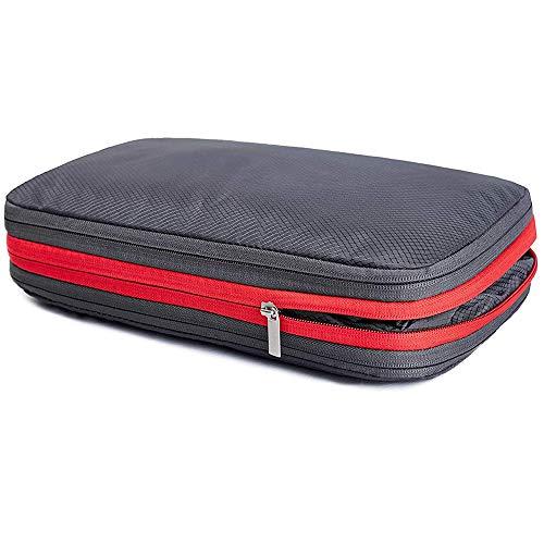Chaslean 圧縮バッグ 便利旅行圧縮バッグ 衣類圧縮バッグ 圧縮で衣類スペース50%節約便利旅行圧縮バッグ ファスナー圧縮 簡単圧縮