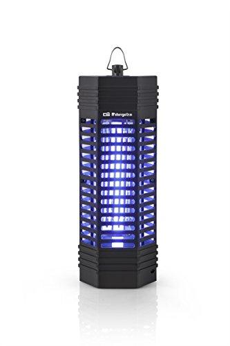 Orbegozo MQ 3006 - Mata mosquitos eléctrico para uso interior y exterior con área de acción de 50 m2, diseño vertical, 6 W