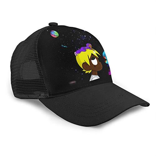 Cover Eternal Atake The World 2 Lil-Uzi=Vert Baseball Cap Unisex Trucker Hat Black