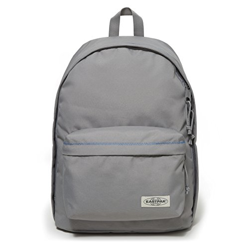 Eastpak Out Of Office Zaino Casual, 27 Litri, Grigio (Grey Stitched)