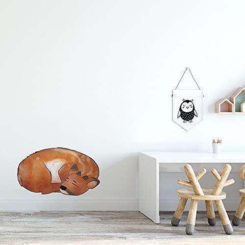 Baby Deer Woodlands Collection - Adhesivo decorativo para pared, diseño de animales