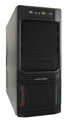 LC-Power LC-925B-ON - Alloggiamento per PC, colore: Nero