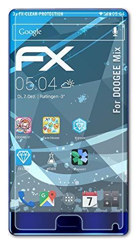 atFolix Schutzfolie kompatibel mit DOOGEE Mix Folie, ultraklare FX Bildschirmschutzfolie (3X)