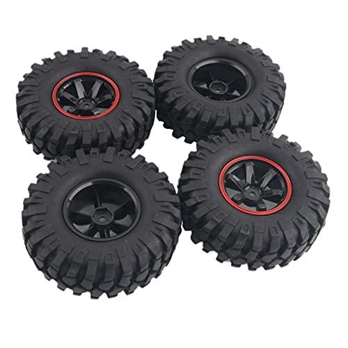 VIKEP Neumáticos de Escalada de Roca de 96 mm en Forma para HSP 1.10 Jeep Wrangler SCX10 D90 Mini reemplazo de Coches
