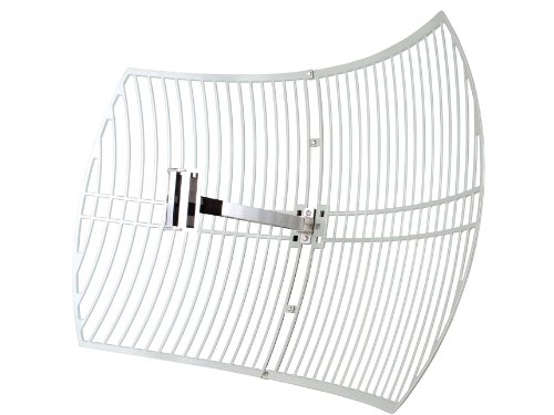 TP-Link 2.4GHz 24dBi Directional Grid Parabolic Antenna, N Female Connector, Weather Resistant (TL-ANT2424B)