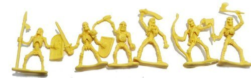 Skeleton Warrior 20 Piece 2 inch Plastic Figure Set