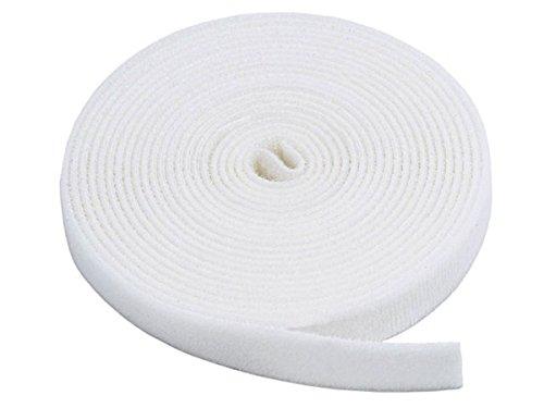 Velcro® Bande Velcro, One-Wrap®, double face, blanc, 1 cm x 2 m
