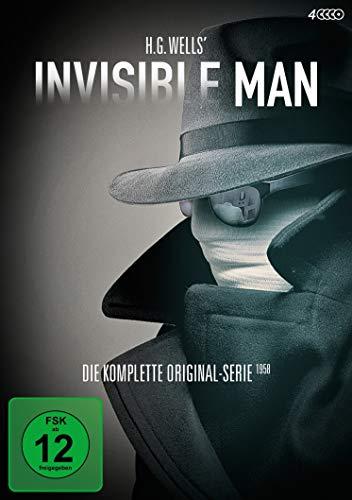 H.G. Wells' Invisible Man - Die komplette Original-Serie 1958 [4 DVDs]