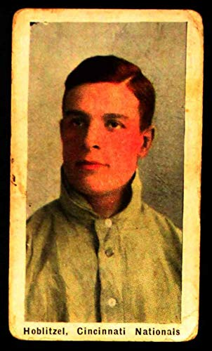 1910 M116 Sporting Life Dick Hoblitzel Reds (Card) GOOD Reds