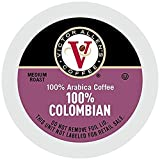 100% Colombian for K-Cup Keurig 2.0 Brewers, 120 Count, Victor Allen's Coffee Medium Roast Single Serve Coffee Pods