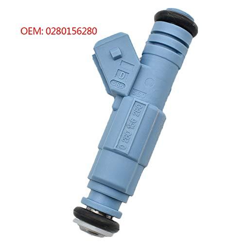 GLYHE Hochleistungs 470cc Fuel Injector 0280156280 0280 156 280 Kompatibel mit VW OPEL C20LET, Z20LET, Z20LEL, Z20LER UND Z20LEH,1pcs