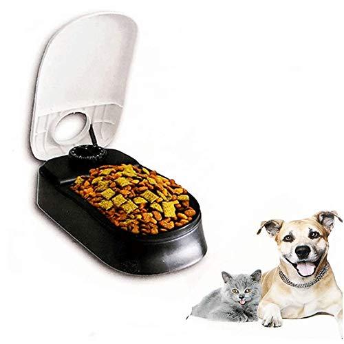 Grote haai Automatische Huisdier Voedsel Feeder & Waterer Dispenser Set, Auto Zwaartekracht Aanvullen Water Eten Bowl Opslag Container 48 uur Timer voor Hond Kat Puppy Pet