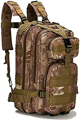 3P Military Tactical Backpack Men Women Nylon Sport Shoulder Bag 25L for Camping Hiking Traveling Bags