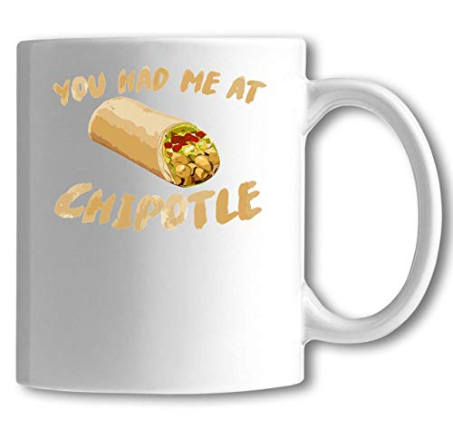 Iprints Mexican Burrito You Had Me at White Ceramic Thea Coffee Cup