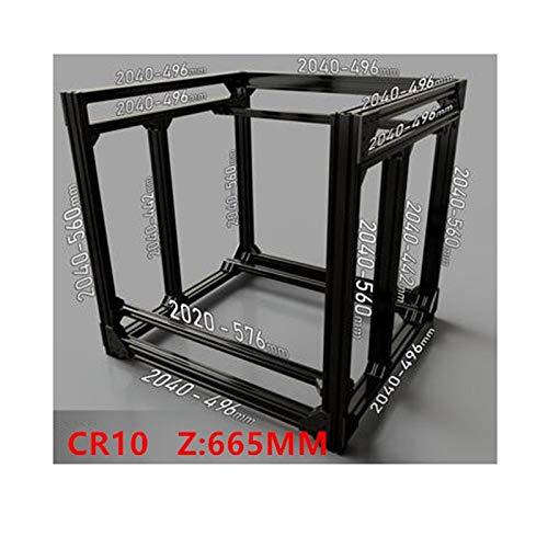 Extrusion de cadre de cube en BLV mgn et rails MGN pour la hauteur 665MM de l'imprimante 3D CR10 de DIY