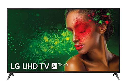 "LG 70UM7100ALEXA - Smart TV UHD 4K de 177 cm (70"") Works With Alexa, Procesador Quad Core, HDR y Sonido Ultra Surround, Color Negro"