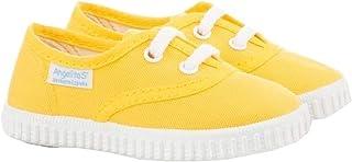 Zapatillas de Lona para Niños y Niñas, Angelitos mod.121, Calzado infantil Made in Spain, Garantia de Calidad.