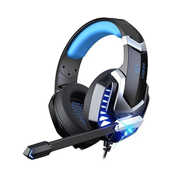 41hVX8pS6WL. SS600  - iporachx Headset PC, Gaming Headset mit Mikrofon, Kopfhörer für PS4 PC Xbox One Switch, Headset für Laptop/Mac