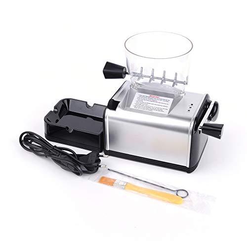 LALAWO Máquina de Cigarrillos eléctrica Tubular máquina automática de Cigarrillos y tolva...