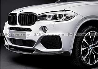 F15 X5 M Sport Front Lip-P Style Carbon Fiber Front Splitter for BMW F15 X5