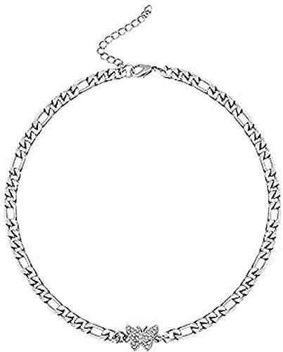 Collar de Cenizas vacías Recuerdo Urna Conmemorativa Collar de Acero Inoxidable Forma de pie de bebé Recuerdo Medallón Colgante Collar Niñas Niños Regalo YUAHJIGE