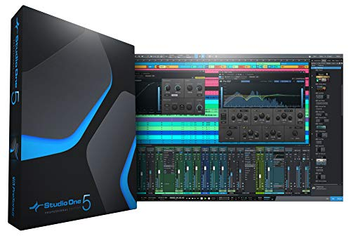 PreSonus Studio One 5 Professional Upgrade da Professional/Producer (tutte le versioni) / Download Card