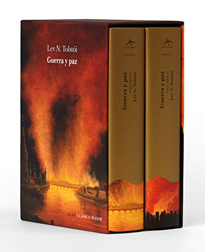 Guerra y paz (estuche con dos volúmenes): LXXXIII (Clásica Maior)