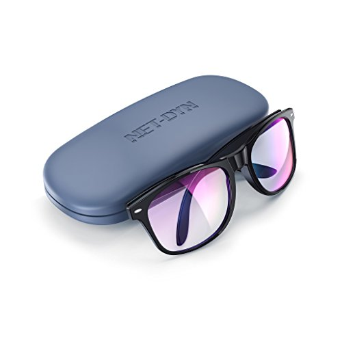 Blue Light Blocking Glasses - Gamer Glasses, Filter Blue Light from LCD/LED Screen and Computer, Eyewear for Sleep and Helps Prevent Eye Strain & Headaches, for Men and Women