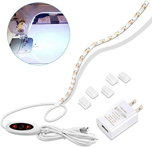Best Price Sewing Machine Light ,Led Sewing Machine Light with Physical Dimmer, and USB Power Supp...