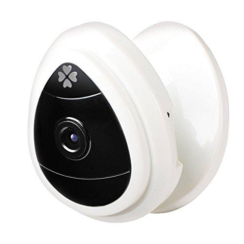 Zmsdt Nanle-CAM Mini cámara IP portátil, 1280x720p Cámara de vigilancia doméstica Cámara IP inalámbrica con micrófono Incorporado Cámara de Seguridad WiFi, Baby Video Monitor Nanny CAM
