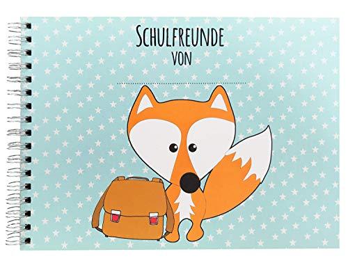 Cherry Picking Freundebuch Schule Schulfreunde Einschulung Schulkind Grundschule Poesiealbum Schulfreundebuch