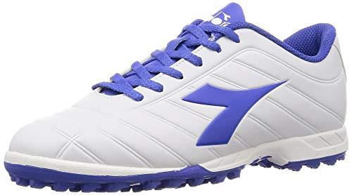 Diadora Pichichi Tf, Scarpe da Calcio Uomo, (Bianco/Blu Persia C8011), 40 EU