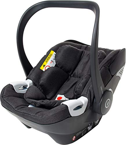 Osann Coco i-Size, Babyschale 40 bis 80 cm - Black Melange