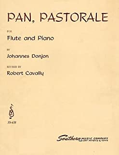 Donjon: Pan, Pastorale for Flute & Piano (Piano Part with Pull Out Section for Flute) [Sheet Music] (SS-438)