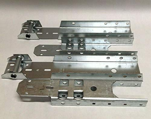 For Sale! 2 1/2 Hinge Operator Reinforcement Bracket ARB Adjustable Garage Door Repair OHD