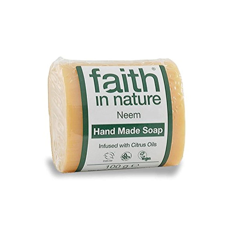 類推彼女のペインギリック自然ニーム&プロポリス石鹸100グラムの信仰 - Faith in Nature Neem & Propolis Soap 100g (Faith in Nature) [並行輸入品]