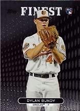 2013 Topps Finest Baseball #16 Dylan Bundy Rookie Card – Near Mint to Mint