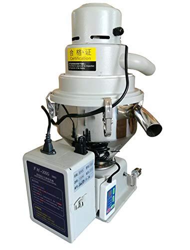 MXBAOHENG - Máquina automática de llenado de partículas para gránulos, máquina de succión automática de partículas para pellets de Grano de plástico, 300 g, 7,5 l, 110 V
