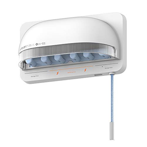 Oclean Supporto da Parete per sterilizzatore per spazzolino da Denti S1 Smart UVC per sterilizzare Gli spazzolini da Denti. Disinfezione Wireless Ricaricabile