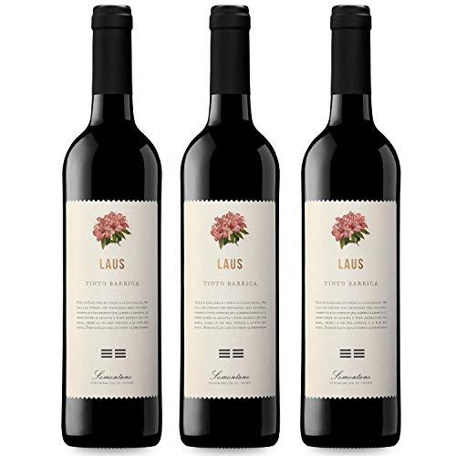 Tinto Barrica Vino Tinto - 3 botellas x 750ml - total: 2250 ml