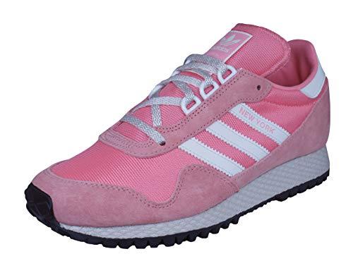 adidas New York, Chaussures de sport homme - Multicolore (Rostac / Blacla / Negbas), 36 EU