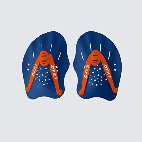 Zone3 Ergo Swim Training Hand Paddles (Blue/Orange)