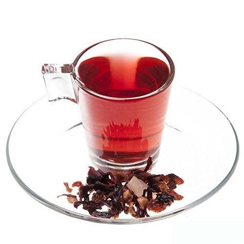 Aromas de Té - Infusión Bahama - Con Coco, Hibisco, Piña, Manzana, Escaramujo y Aromas Naturales - Diurética - Con Propiedades Antioxidantes - Sin Teína - Sin Gluten - 50 gr.