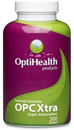 OptiHealth OPCXtra Isotonic OPC – 3 Month Supply – Grape Seed Extract, Pine Bark Extract, Red Wine Extract, Citrus Bioflavonoids, Green Tea Leaf – Super Antioxidant Polyphenols Supplement with Vitamin C, Vitamin E, Potassium