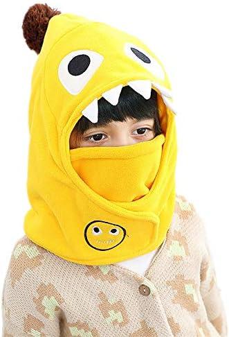 Unisex Kids Baby Fleece Hat Toddler Winter Balaclava Cute Animal Windproof Hood Scarf Beanie product image