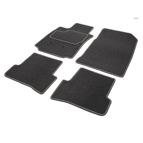 Teppich Auto Elegance passgenau für Montblanc Automaxi Kit 2(DE09/08-ce Tag)–2Road + 2ARRIERES–Grau–Teppich Tuft, der Aspekt Velours 550g/m2+ SSC Schicht 1600g/m2