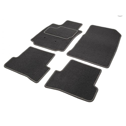 Teppich LANOS, 2 Vorne + 2 Rücken, Grau, 03.97 bis 05.05, passgenau Teppich Luxe, GT