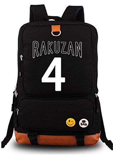 Siawasey Kuroko no Basket Anime Cosplay Canvas Bookbag Mochila hombro mochila escolar