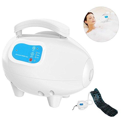 Badkamerbadmat met luchtbellen, waterdichte luchtbellenbadkuip, ozon-body-badkamer-verwarmbare massagemat met luchtslang. EU-stekker